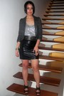 Zara-blazer-terranova-top-black-the-ramp-skirt-random-accessories