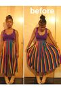 Purple-nakimuli-top-gold-vintage-skirt