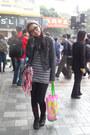 Zara-boots-from-baguio-hat-zara-jacket-uniqlo-leggings-h-m-purse