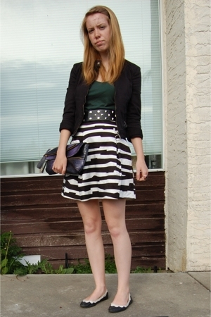 RW &amp; CO jacket - Club Monaco skirt - Old Navy shirt - Urban Outfitters shoes - A