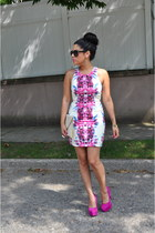 OASAP dress - asos bag - Jessica Simpson heels