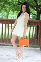 Olivia  Joy bag - She Inside dress - Forever21 heels - Oia Jules necklace
