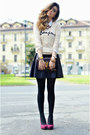 Ysl-bag-oasap-cardigan-in-love-with-fashion-skirt