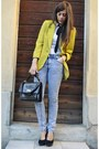 Vintage-blazer-prima-donna-shoes-top-man-jeans-vintage-bag-shirt-shirt
