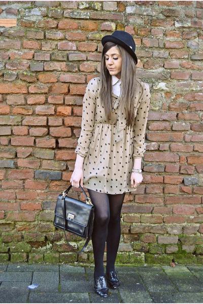 who sale dress dress - dsquared hat hat - Vintage bag bag - asos shoes flats