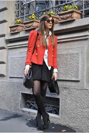 Prima Donna boots - orima donna boots - H&M jacket - miss sicily bag