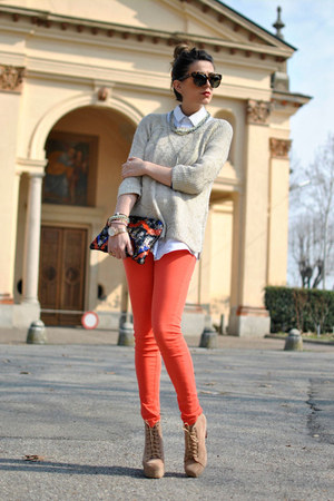 Zara jeans - Jeffrey Campbell shoes - Zara sweater