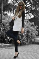romwe jacket - Prima Donna shoes
