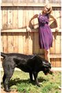 Purple-i-heart-ronson-dress-purple-mossimo-shoes