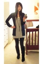 Design History jacket - Diva Diva dress - Urban Outfitters boots - H&M necklace