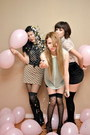 Polka-dots-forever-21-skirt