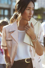 Light-pink-gary-pepper-vintage-jacket-ivory-gary-pepper-vintage-bag