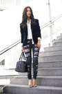 Navy-style-stalker-blazer-white-zara-shirt-black-marcs-bag-black-aje-pants