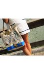 White-forever21-dress-blue-payless-shoes-beige-coach-purse