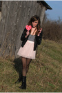 Pink-forever21-skirt-black-forever21-jacket-black-wal-mart-tights-black-th