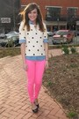 Abercrombie-and-fitch-pants-sequin-j-crew-top-chambray-j-crew-top
