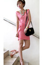 Salmon-suede-topshop-shoes-bubble-gum-jersey-tyler-dress-black-shoulder-bag-