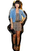 Glitterati suit - Grommet by Glitterati belt - DKNY jacket - Mango purse - zoo s