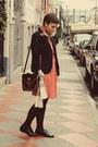 Vintage-shoes-vintage-dress-gap-blazer-vintage-purse