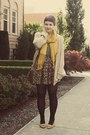Target-scarf-goodwill-cardigan-goodwill-heels-urban-outfitters-skirt