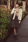 Ross-boots-gap-jacket-thrifted-skirt