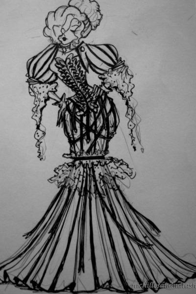art victorian dress