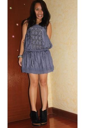 Zara dress - boots
