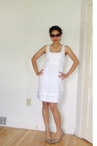 Cole Haan sunglasses - Juicy Couture dress - Akoya necklace - Cole Haan shoes