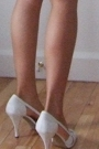 White Long Ann Demeulemeester Blazers White Anne Klein Shoes