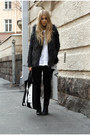 Black-dr-denim-jeans-black-leather-topshop-jacket-gray-furry-h-m-vest