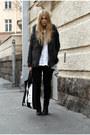 Black-dr-denim-jeans-black-leather-topshop-jacket-gray-furry-h-m-vest