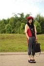Red-hat-dr-for-bloopendorse-gray-gaudi-black-bucherri-black-sophie-marti