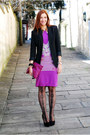 La-redoute-blazer-asos-tights-american-apparel-bag-freak-factory-skirt