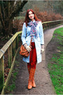 Burnt-orange-duo-boots-light-blue-h-m-coat-ruby-red-very-jeans