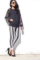 stripe pants comme ca pants