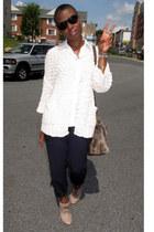 Aldo shoes - H&M sweater - H&M shirt - vintage pants