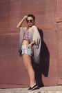 Black-h-m-shoes-off-white-h-m-blazer-sky-blue-new-yorker-shorts