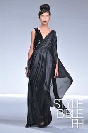 black Noel Crisostomo dress