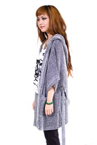 Heather Gray Cheap Monday Cardigans