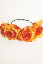 Sunset Rose Crown
