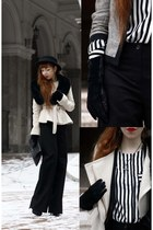 H&M Trend coat - Divided hat - H&M Trend purse - H&M Trend blouse
