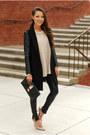 Black-sheinside-coat-cream-choies-sweater