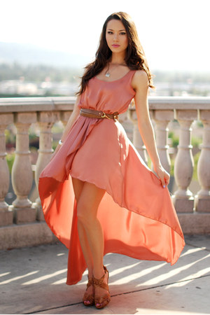 Love dress - leather Aldo heels