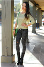 Black-bebe-boots-heather-gray-pink-ice-jeans-lime-green-udobuy-sweater