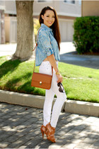 Chambray and White Denim