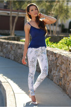 cream Big Star USA jeans - navy Express top