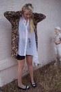 Biker-h-m-shorts-leopard-print-minkpink-cardigan-cheap-monday-blouse-spect