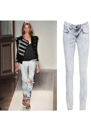 Christophe Decarnin jeans
