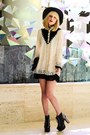 Black-jeffrey-campbell-boots-off-white-sheinside-dress