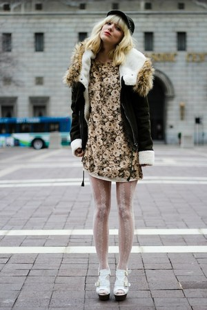 army green Sheinside coat